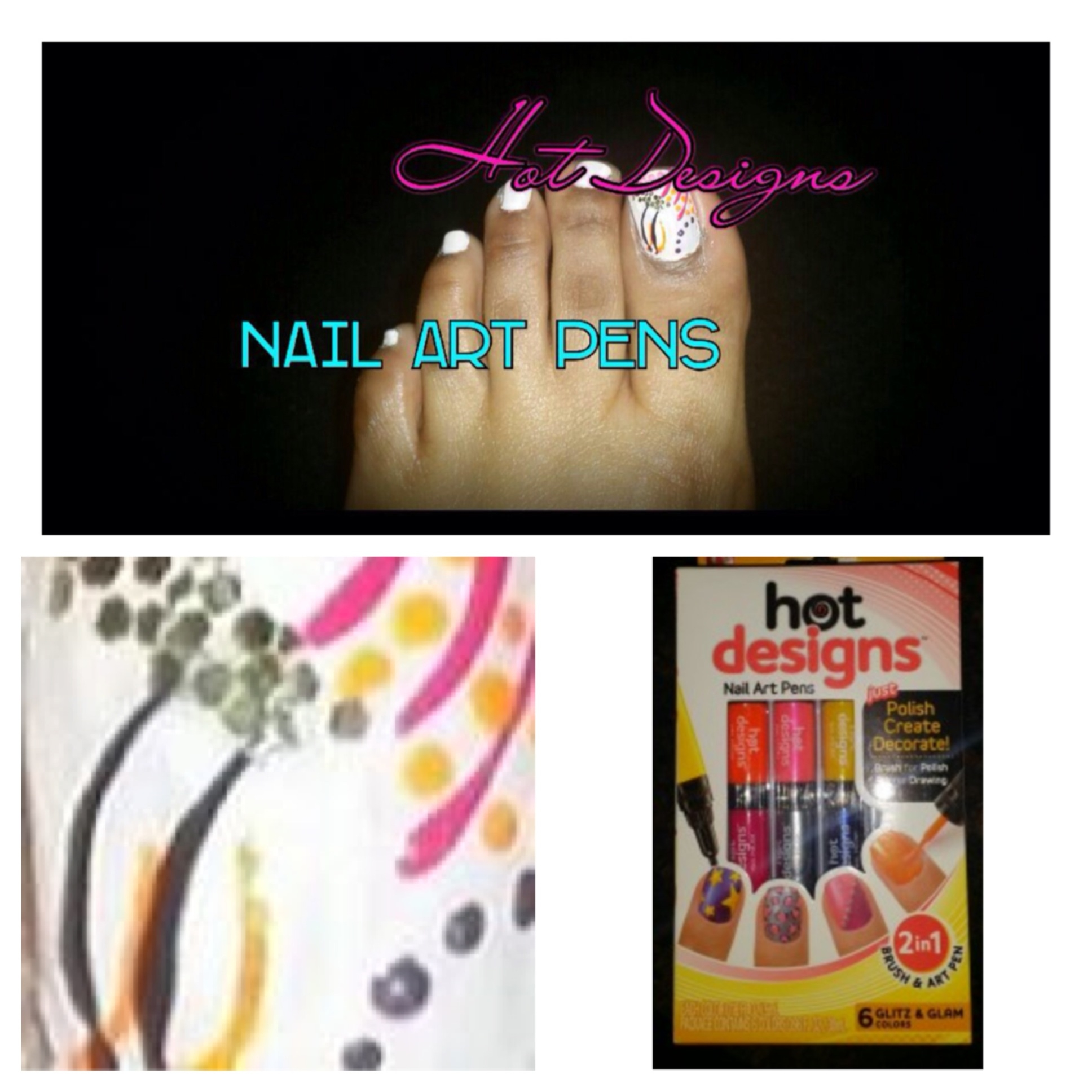 Review: Hot Designs Nail Art Pens